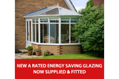 A rated energy saving glazing